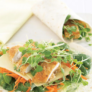 Fried Chicken Wraps Recipe