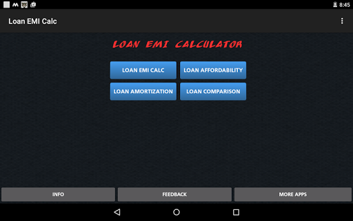 Loan/Mortgage EMI Calculator Apk Download Free for PC, smart TV