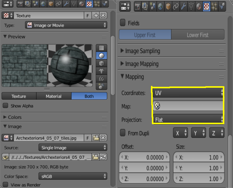 UV Mapping & Constant Lamp 2