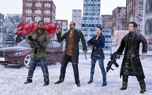 Winter City Shooter Gangster Mafia