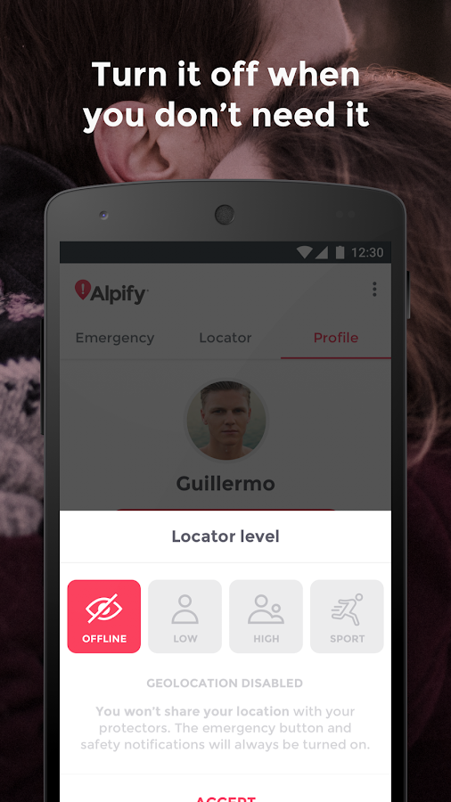Alpify - Safe365- screenshot