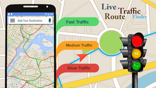 Voice GPS Navigator: Live Traffic & Transit Maps 3.3 screenshots 2