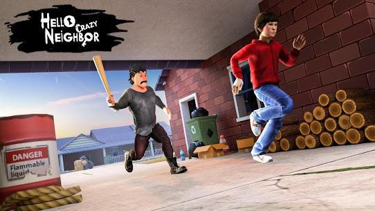 Hello Crazy Neighbor Game:Secret. Family Escape 3D 3