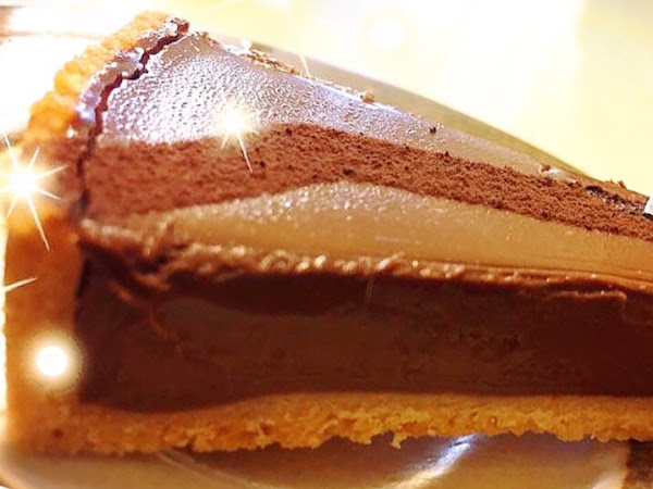 塔皮超好吃 巧克力也不會太甜,男生吃也ok!
