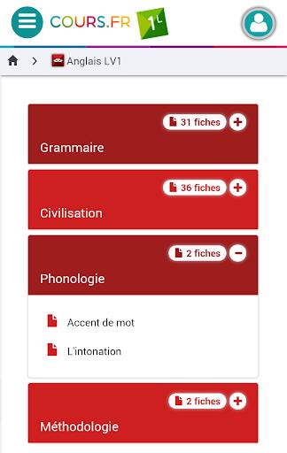 Cours.fr 1L|玩教育App免費|玩APPs