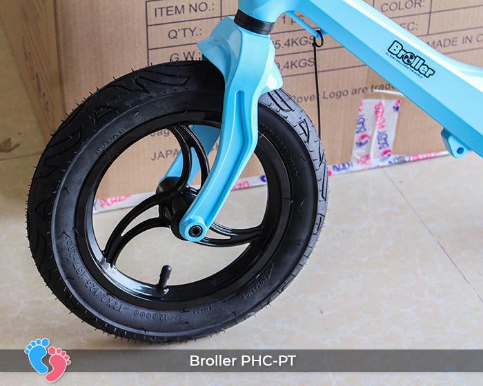 Xe cân bằng Broller PHC-PT bánh hơi 6