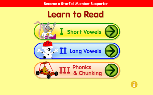 Starfall Learn to Read- screenshot thumbnail