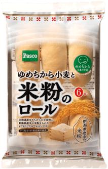 パスコ小麦と米粉のロール