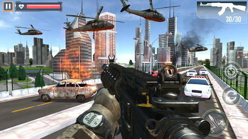 FPS Air Shooting : Fire Shooting action game android2mod screenshots 6