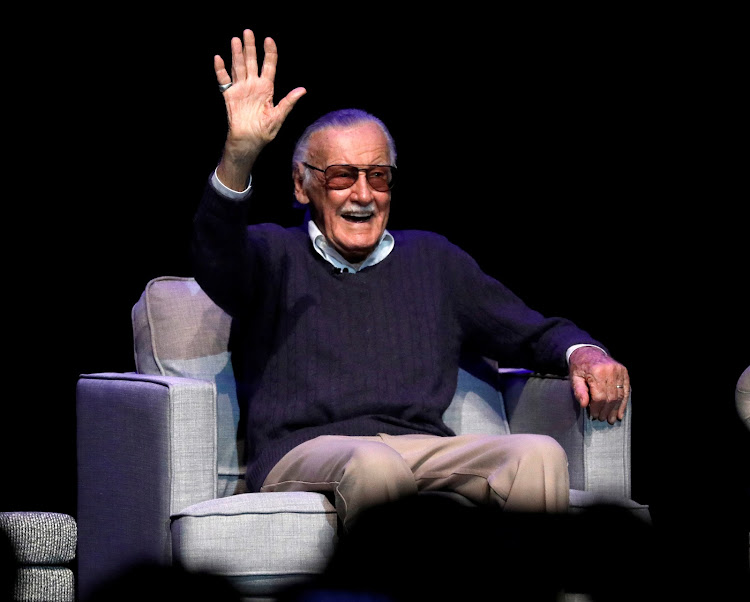 "Marvel Comics co-creator Stan Lee attends a tribute event ""Extraordinary: Stan Lee"" at the Saban Theatre in Beverly Hills, California, US, on August 22 2017."