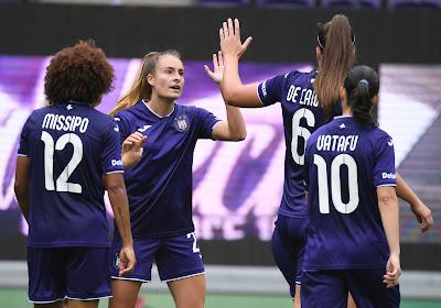 🎥 Ligue des champions dames : Anderlecht cartonne Linfield et rejoint le 2ème tour préliminaire