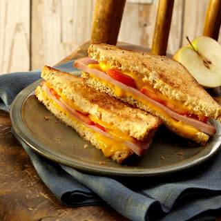 Grilled Ham & Cheese Sandwiches