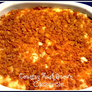 Country Hash Brown Casserole!.