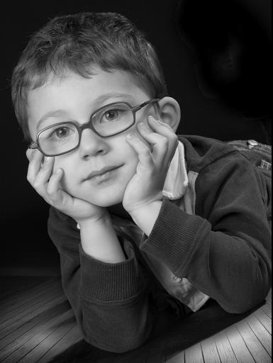portrait d'enfant a offrir realisé par photographe professionnel caen