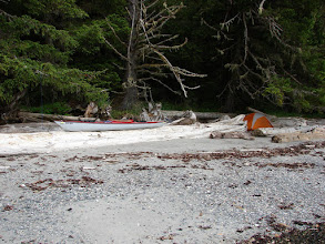 Photo: Campsite north of Ryan Point near Slippery Rock.