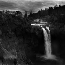 Photo: I've been a fan of David Lynch's films for a very long time-- and when it was on television in the 90's, I was obsessed with Twin Peaks. I visited the famous waterfall and lodge so prominently featured in the show a few years ago. This is my tribute to that wonderfully quirky, disturbing and mysterious show ...