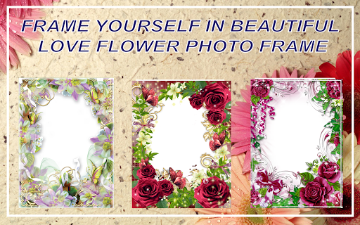 Love Flower Photo Frame new 2018  screenshots 4