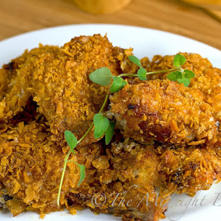 Crispy Cajun Chicken.