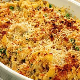 Tuna Casserole with Egg Noodles Recipe