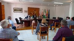Imagen de archivo de una reunión.
