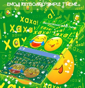 Emoji Keyboard Simple Theme - náhled