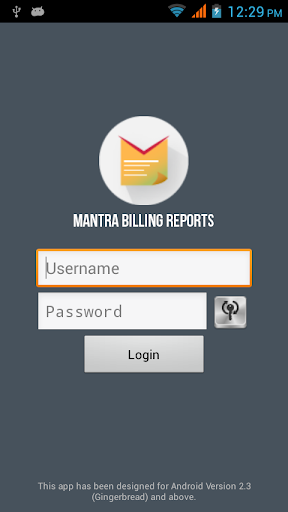Mantra Billing Reports