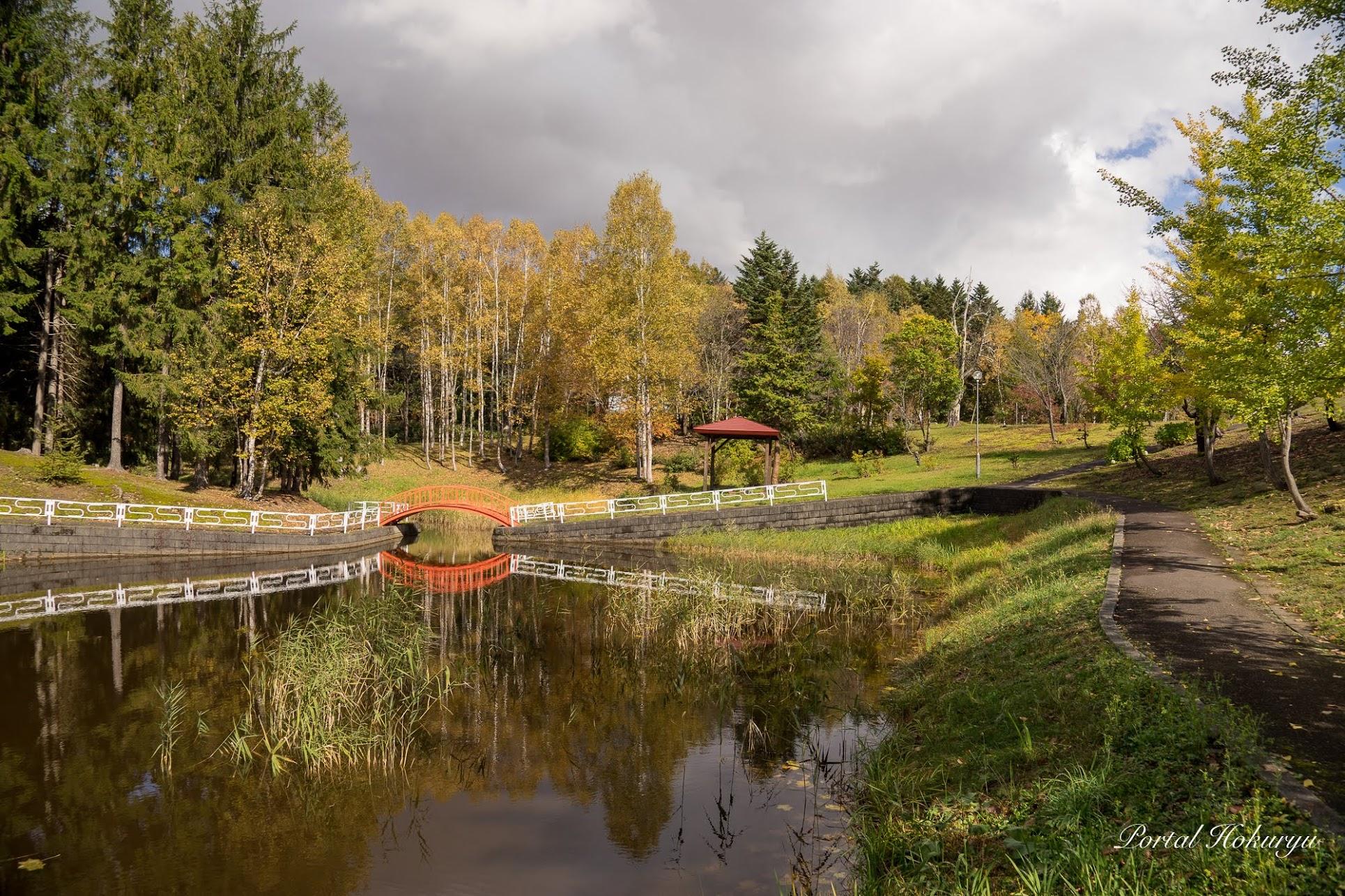 金比羅公園の秋模様