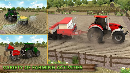 Grand Tractor farming Simulator 2018 - Real Farm - náhled