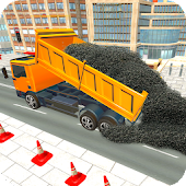 Real City Road Building Construction 3D