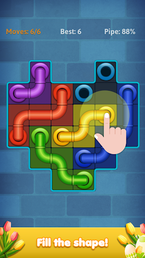 Line Puzzle: Pipe Art screenshots 2