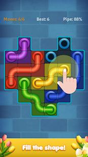Line Puzzle: Pipe Art Mod