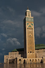 Photo: Mosque of Hassan II Casablanca - 3rd biggest mosque outside of Mecca and Medina Saudi Arabia