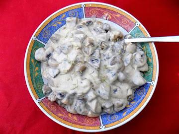 Mushrooms In A White Wine Cream Sauce Recipe