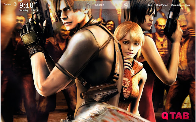 Resident Evil 4 Wallpapers Fullhd New Tab