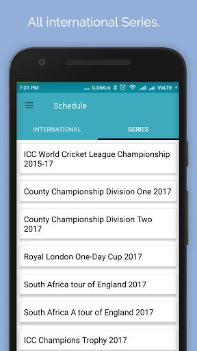 Live Cricket Score 2018 2.2 screenshots 4