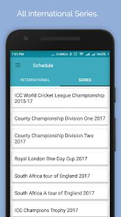 Live Cricket Score 2017 - náhled