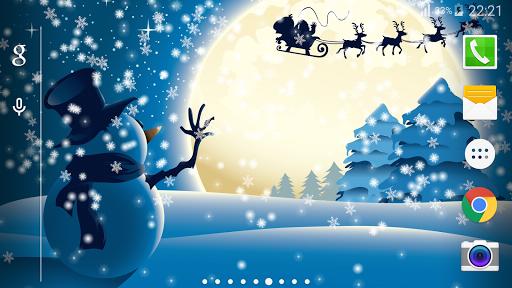 크리스마스 프로 라이브 배경 화면
