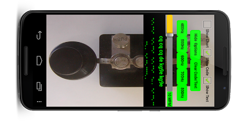 2 Amateur ham radio CW Morse code practice keys TX on