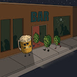 Rough Draft Three Hops Walk Into A Bar