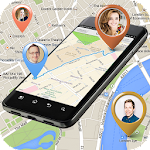 GPS Mobile Number Locator Icon