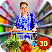 Mall Shopping Simulator - Grocery Store Customer
