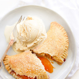 Raspberry Peach Hand Pies