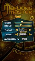 Screenshot of Mahjong Master
