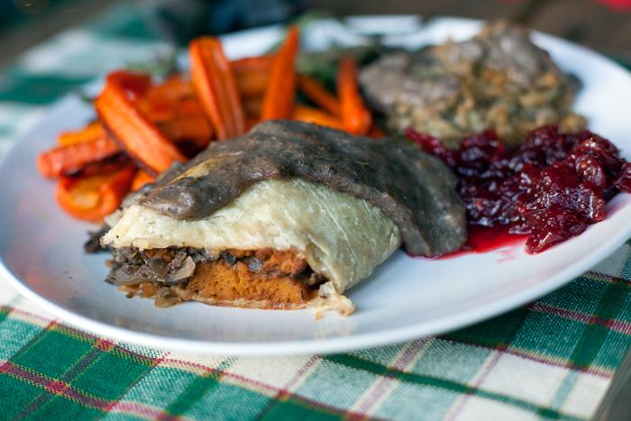 Vegan Beef Wellington Pastry Recipe