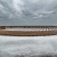 Neve sul mare di