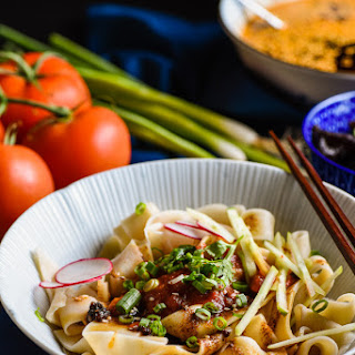 Biang Biang Noodles (Chinese Hot Sauce Noodles)