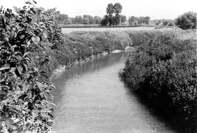 Figuur 5: De Grote Gete aan de Ganzenbrug.