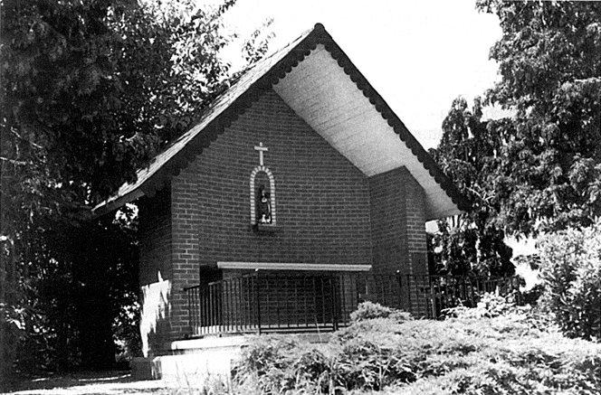 Figuur 18: De nieuwe Sint-Huibrechtskapel in de Sint-Hubertusstraat.