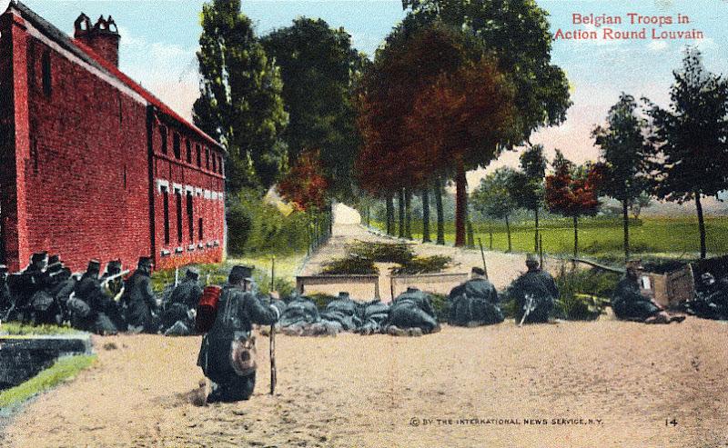 Postkaart uit 1914