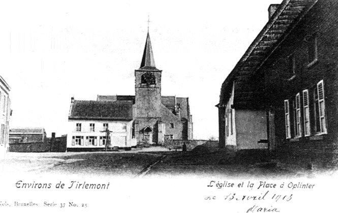 Figuur 7: Het dorpsplein van Oplinter in 1913.